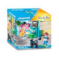 Playmobil 70439 vakantiegangers met gedautomaat