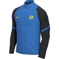 nike Inter Milan Dry Strike Trainingstrui 2020-2021 Blauw Zwart
