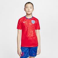 Nike Engeland Voetbaltop met korte mouwen voor kids - Rood