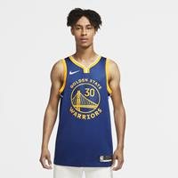 Stephen Curry Warriors Icon Edition 2020 Swingman  NBA-jersey - Blauw