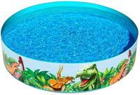 Bestway kinderzwembad Fill N Fun Dinosaurus 183 x 38 cm vinyl