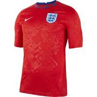 nike Engeland Pre Match Trainingsshirt 2020-2022 Rood