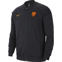 nike Nederland GFA Fleece Trainingsjack 2020-2022 Zwart