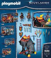 Playmobil 70393 Burnham riaders vurige stormram