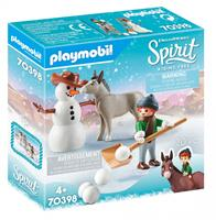 PLAYMOBIL Spirit Riding Free Sneeuwpret met Snips (70398)