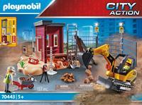 Playmobil 70443 Mini graafmachine met bouwonderdeel