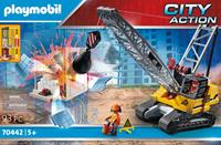 Playmobil 70442 Kabelgraafmachine met bouwonderdeel