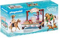 PLAYMOBIL Spirit Riding Free Kerstmis Concert (70396)