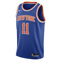 Nike Frank Ntilikina Knicks Icon Edition 2020 Swingman  NBA-jersey - Blauw