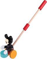 Duwstok hout Mickey Mouse met trommel 18+ mnd
