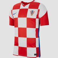 Nike uefa euro 2020 hns kroatie breathe stadium thuisshirt wit/rood 20/22 heren