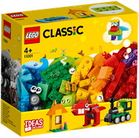 LE11001 LEGO CLASSIC Bricks And Ideas - Toys For Boys And Girls, Figures + 3 Years, Blocks Pieces, Original