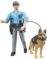 Bruder Figuur Politie Met Hond B World