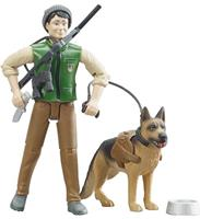 Bruder Figuur Jager Met Hond B World
