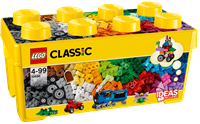 LE10696 LEGO CLASSIC Medium creative brick box-toys for boys and girls, figures + 3 years, blocks and pieces, original