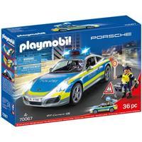 PLAYMOBIL City Action - Porsche 911 Carrera 4S Politie 70067