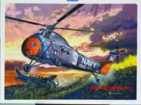 Planes / Helicopter H34 US Navy Rescue Helicopter