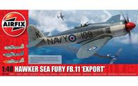 Hawker Sea Fury FB.11 'Export' Series 6 1:48 Air Fix Model Kit