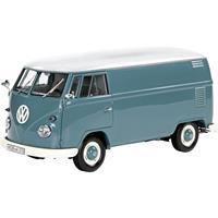 schuco VW T1 Kasten blau 1:32 Auto