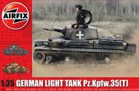 German Light Tank Pz.Kpfw.35 (t) 1:35 Tank Air Fix Model Kit