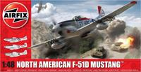 North American F51D Mustang Series 5 1:48 Air Fix Model Kit