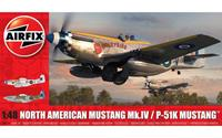 North American Mustang Mk.IV/P-51K Mustang Series 5 1:48 Air Fix Model Kit