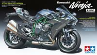 Tamiya 14136 Kawasaki Ninja H2 Carbon Motorfiets (bouwpakket) 1:12