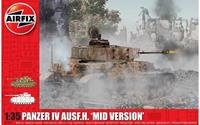 Panzer IV Ausf.H Mid Version 1:35 Tank Air Fix Model Kit