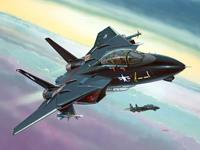 Model Set F-14A Black Tomcat Revell - schaal 1 -144 - Bouwpakket Revell Modelsets