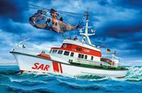 Revell 05683 DGzRS Berlin + Sea King Good Bye Set Boot (bouwpakket) 1:72