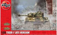 Tiger-1 Late Version 1:35 Tank Air Fix Model Kit