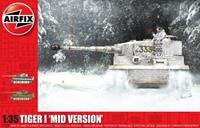Tiger-1 Mid Version 1:35 Tank Air Fix Model Kit