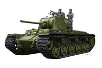 Military KV-1 1942 Simplified Turret Tank with Crew