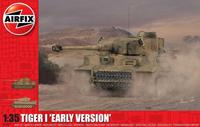 Tiger 1 Early Production Version 1:35 Tank Air Fix Model Kit