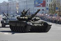 Military Russian T-72B3 MBT