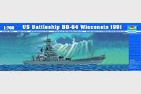 Boats U.S. BattleShip BB-64 Wisconsin 1991