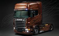 Italeri 3897 Scania R730 V8 Black Amber Vrachtwagen (bouwpakket) 1:24