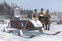 Military Soviet Aerosan RF-8