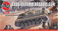 Stug III 75mm Assault Gun 1:76 Vintage Classic Military Air Fix Model Kit
