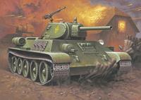 T-34/76 Model 1940 Revell Model Kit