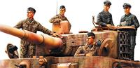 Military German Panzer Tank Crew Normandy 1944