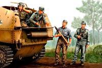 Military German SPG Crew