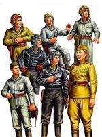Military Russian Tank Crew