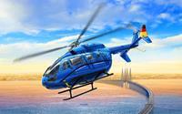 Revell 03877 EC 145 Builders Choice Helikopter (bouwpakket) 1:72