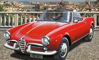 Italeri 3653 Alfa Romeo Giulietta Spider 1300 Auto (bouwpakket) 1:24