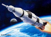 Revell 04909 Apollo Saturn V Ruimtevaartuig (bouwpakket) 1:144