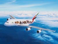 Airbus A380-800 Emirates Wild Life 1:144 Level 5 Revell Model Kit