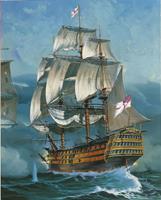 Battle Of Trafalgar Gift Set 1:225  Revell Model Kit