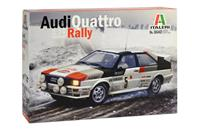 Italeri 3642 Audi Quattro Rally Auto (bouwpakket) 1:24
