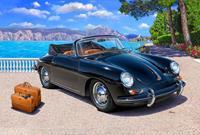 Porsche 356 Cabriolet Revell schaal 116